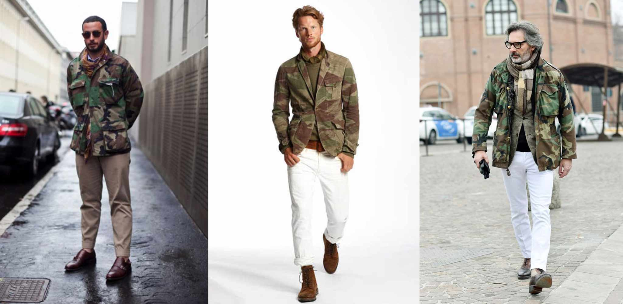 How to Wear It  The Camo Jacket– The Revive Club