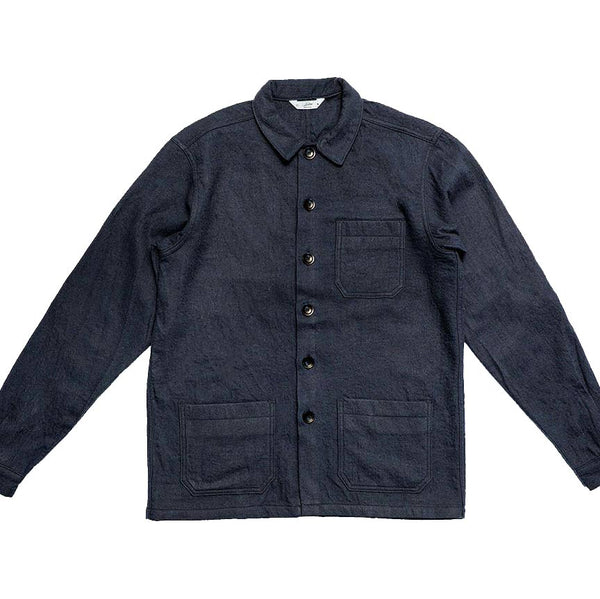 Shop Jacket in Navy - The Revive Club