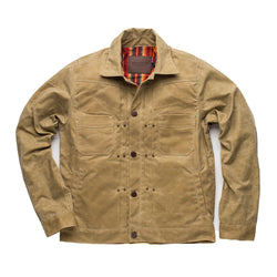 Waxed Riders Jacket - Tobacco