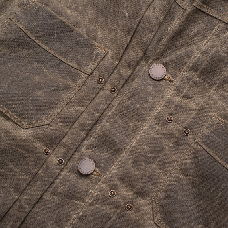 Waxed Riders Jacket - Oak