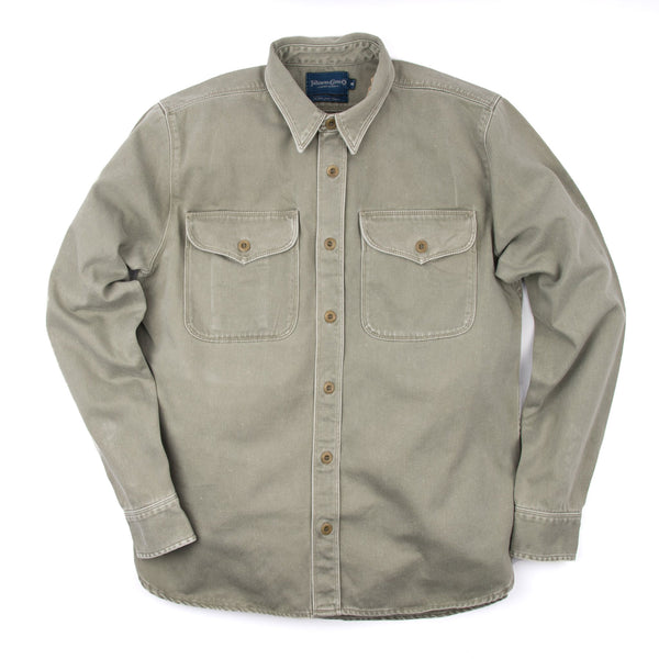 Utility Shirt in Olive