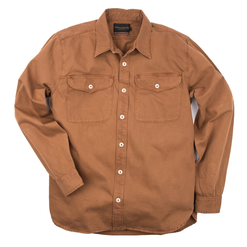 Utility Shirt in Tobacco