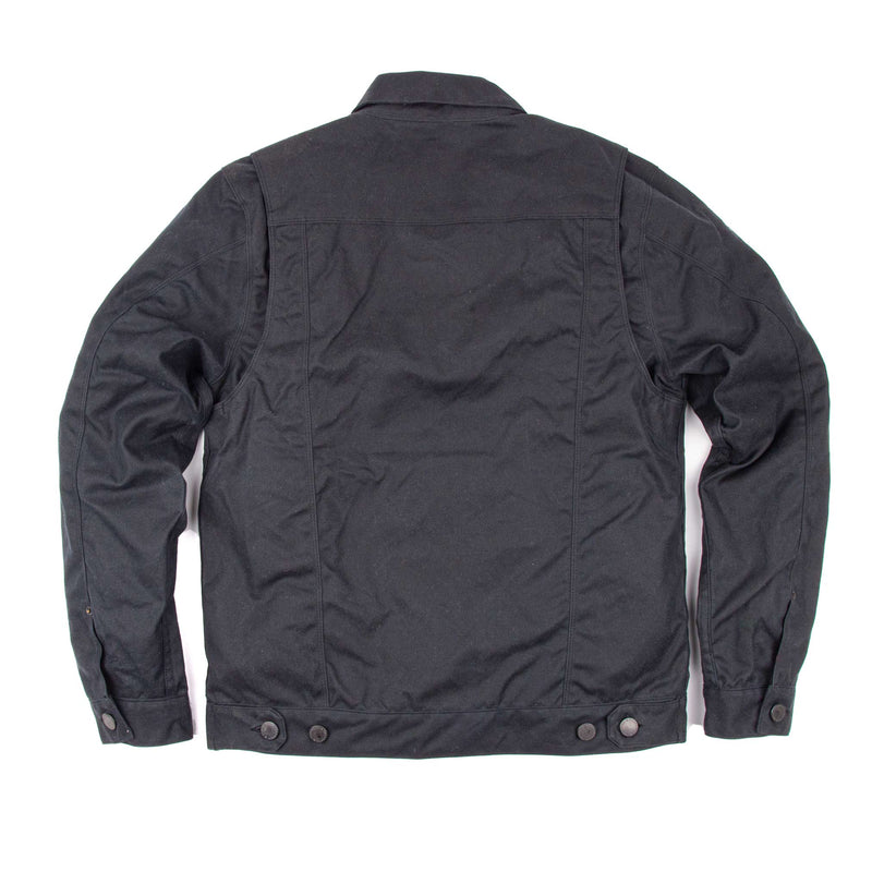 Waxed Riders Jacket - Black