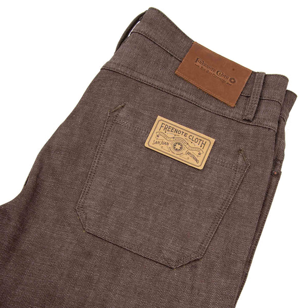 Rios 13oz Brown Denim