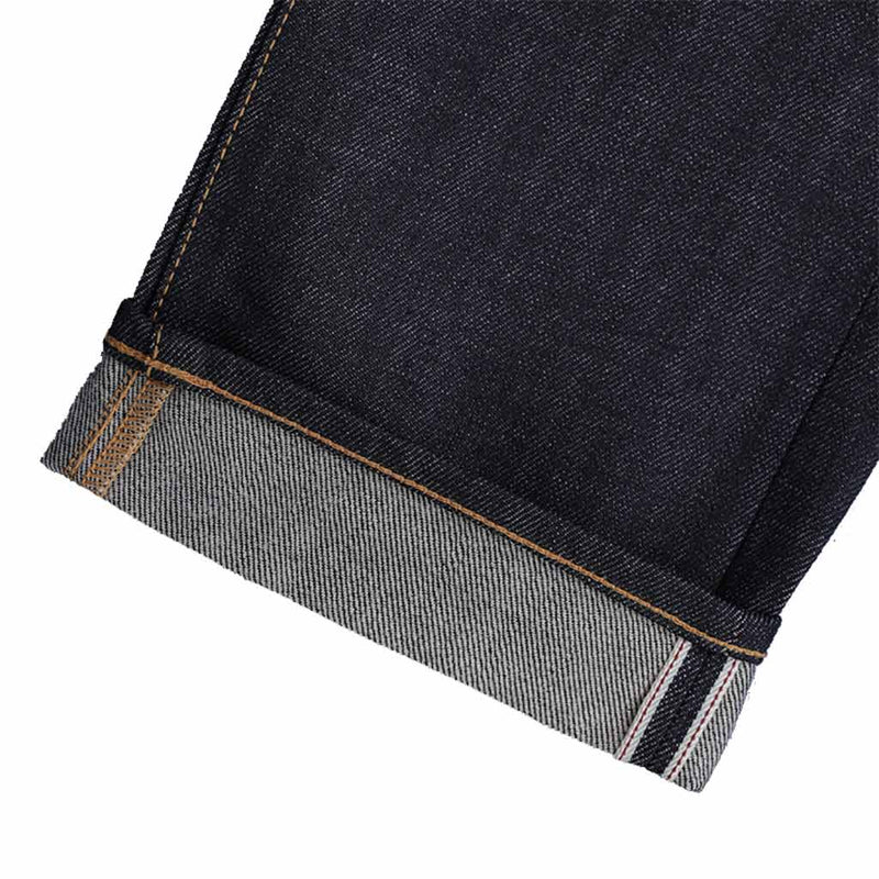 Benzak B-01 Brown Cotton Selvedge Denim Jeans - The Revive Club