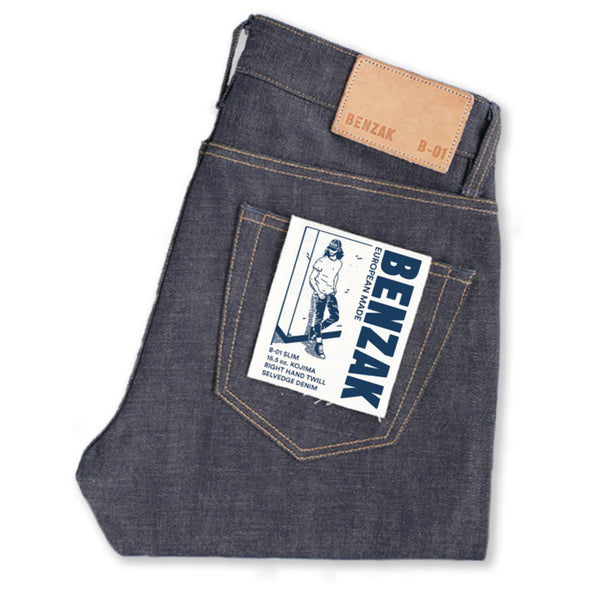 B-01 SLIM 15.5 oz. Kojima Selvedge - The Revive Club