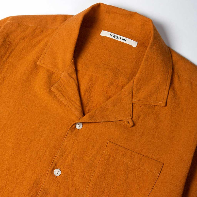 Crammond Shirt in Survival Orange - The Revive Club