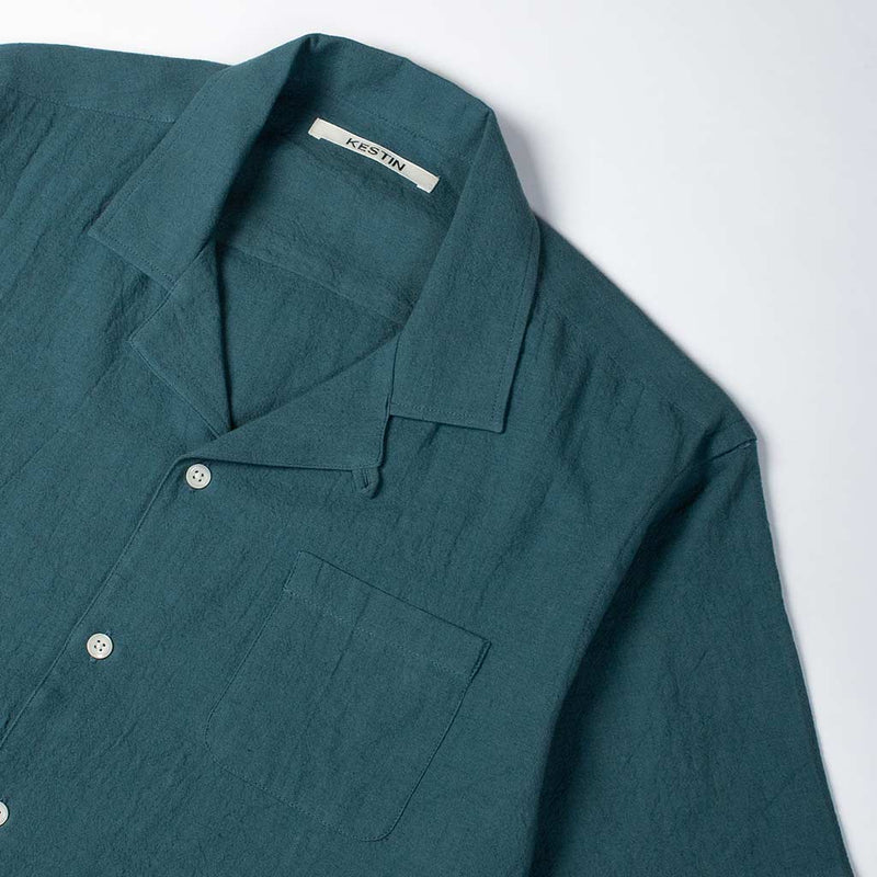 Crammond Shirt in Teal - The Revive Club