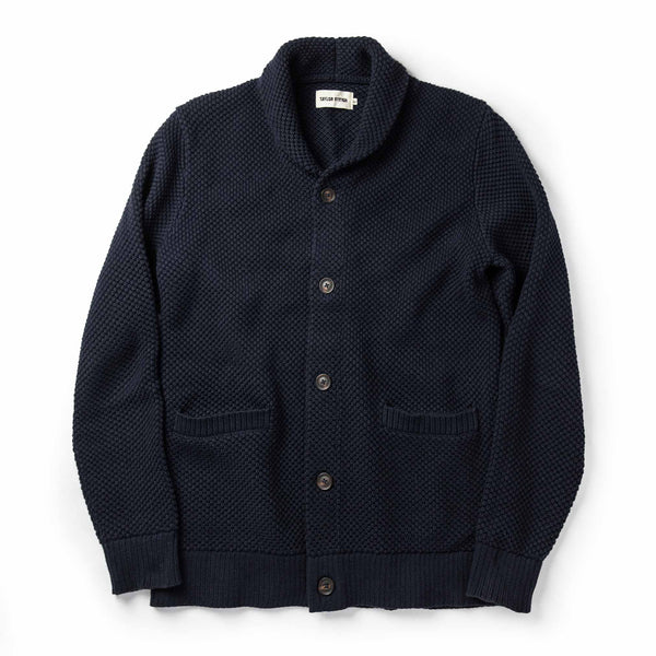 The Crawford Sweater in Navy
