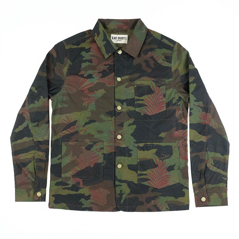Eat Dust 673 Jungle Cotton Camo Jacket - The Revive Club