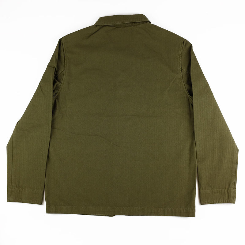 HBT Combat Blazer - Dark Olive - The Revive Club