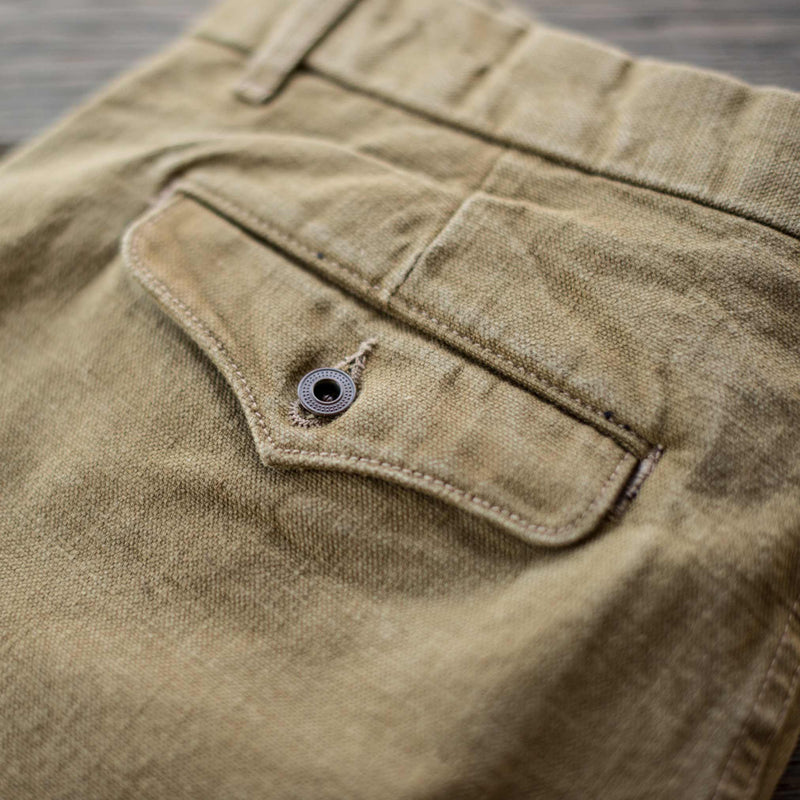 Workers Chino 14oz Slub Tan