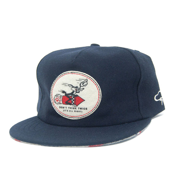Don't Think Twice Wool Strapback - The Revive Club