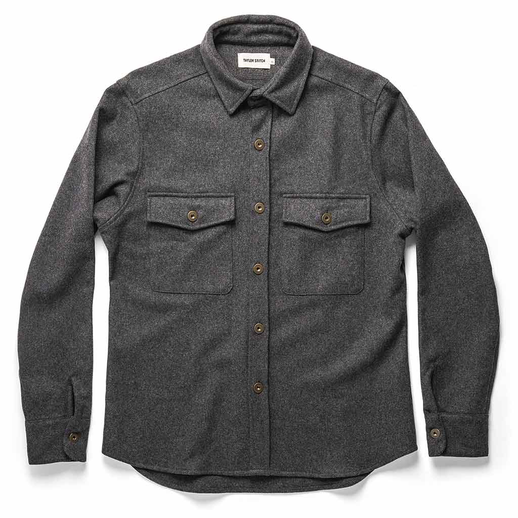 The Explorer Shirt in Grey