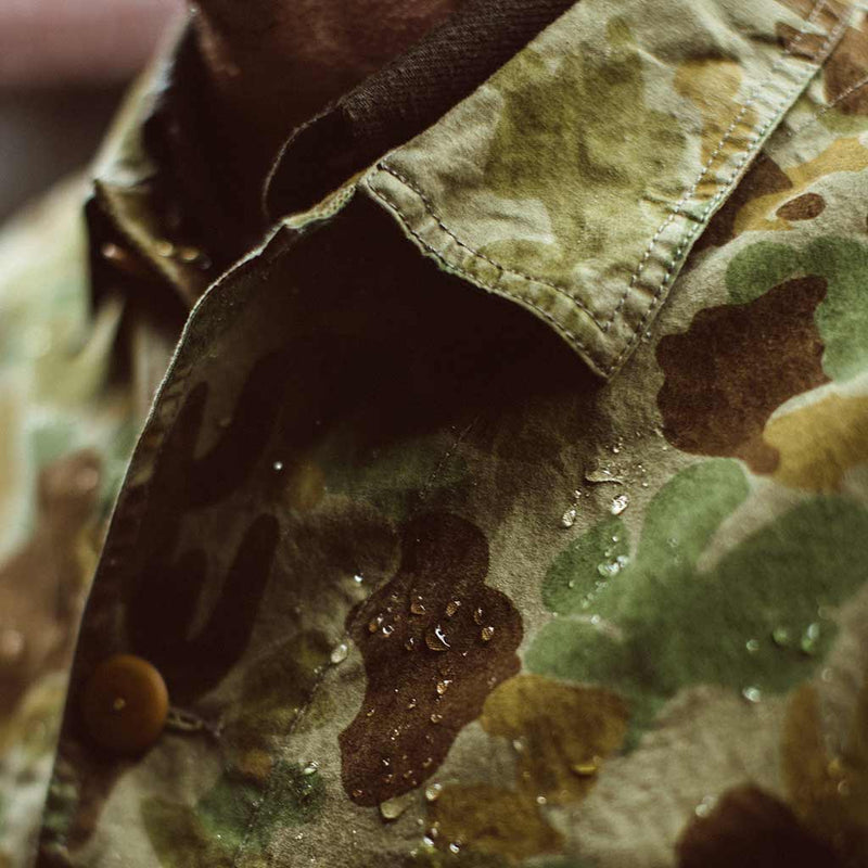 The Ojai Jacket in Arid Camo Dry Wax - The Revive Club