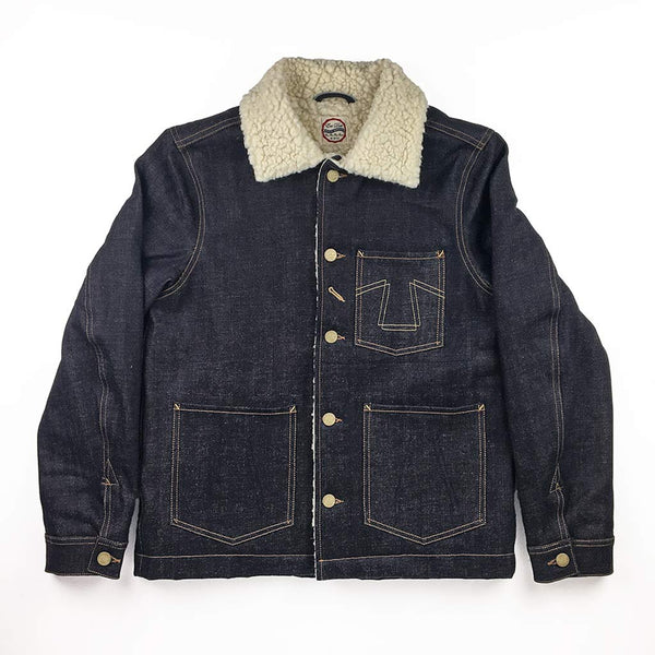 Chore Jacket 673-S in Selvedge Denim