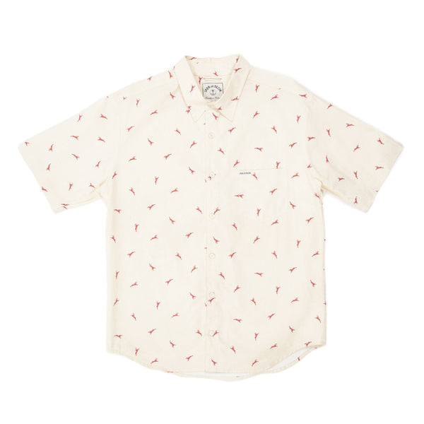 Jackalope Shirt - Cream