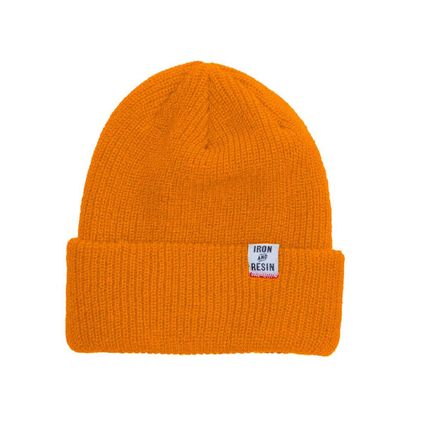 Watchman Beanie - Orange - The Revive Club