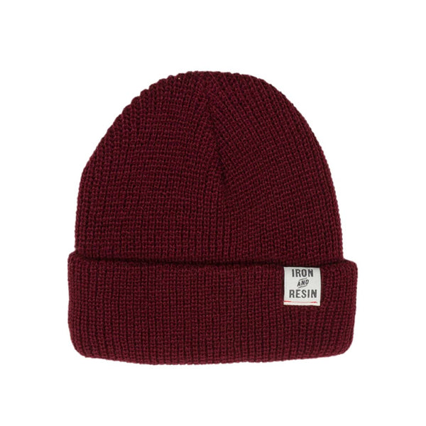 Watchman Beanie - Oxblood - The Revive Club