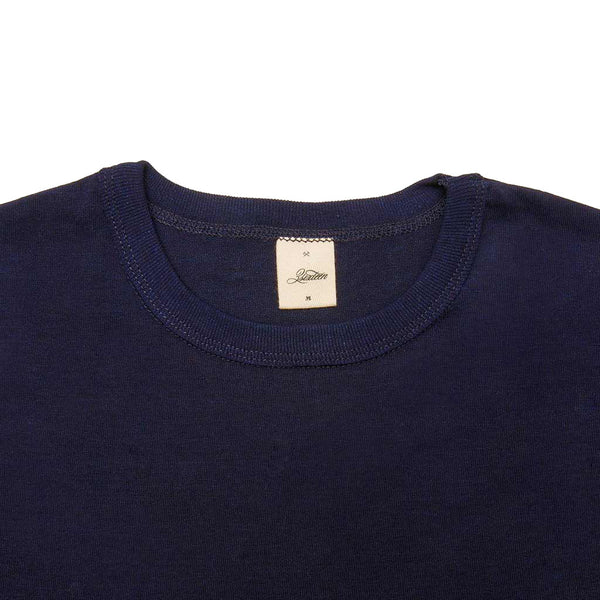 Heavyweight Plain T⁠-⁠Shirt Indigo - The Revive Club