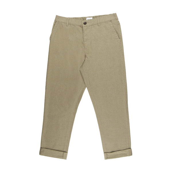The Beach Pant in Olive - The Revive Club