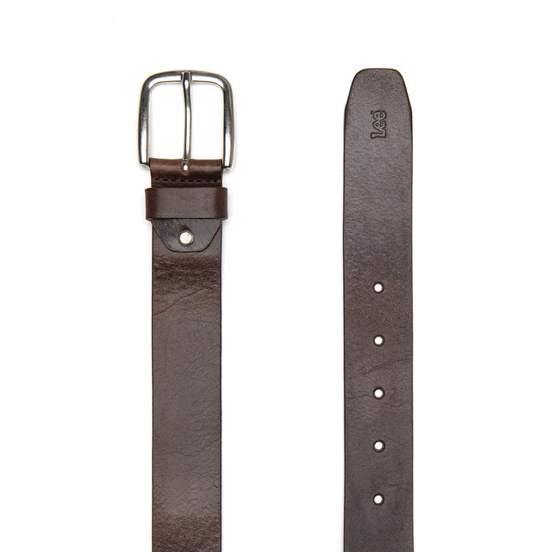 Leather Belt in Dark Brown - The Revive Club