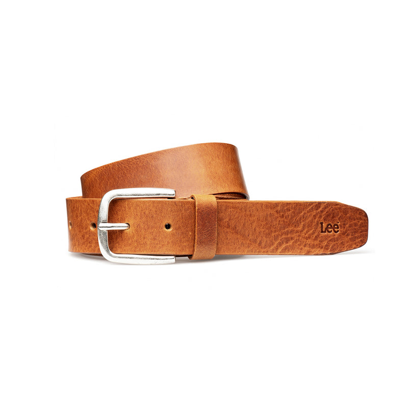 Leather Belt in Dark Cognac - The Revive Club