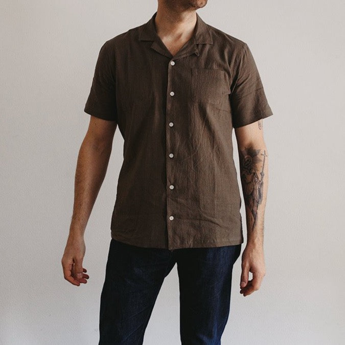 Crammond Short Sleeve Men's Shirt from Kestin available at The Revive Club