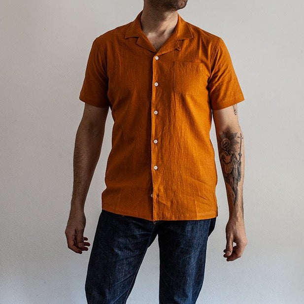 Crammond Shirt in Survival Orange