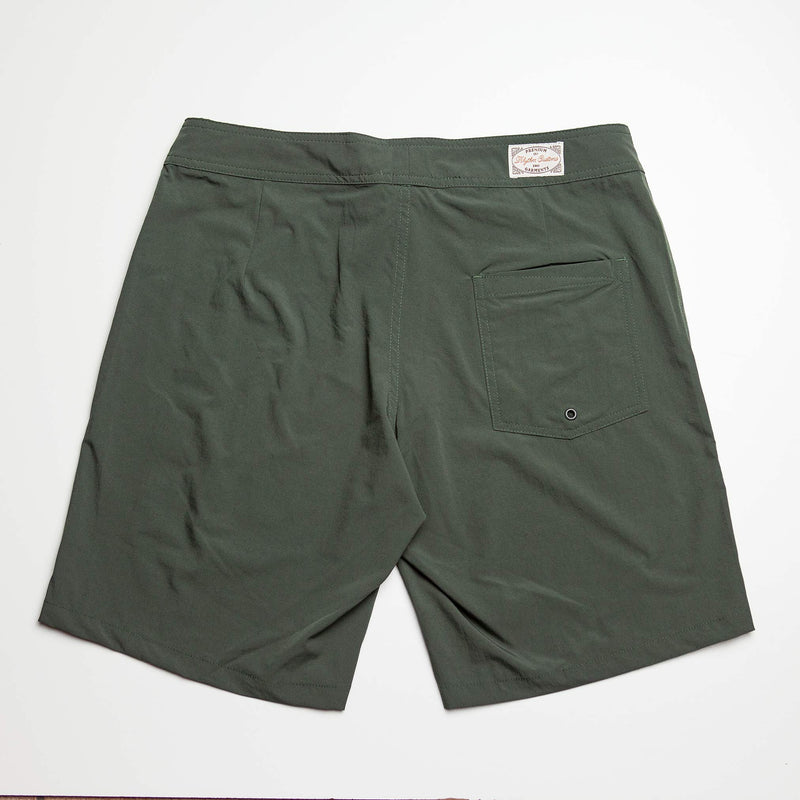 The Staple Surf Trunk in Green