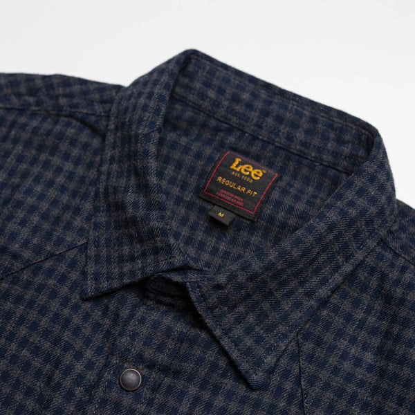 Rider Shirt in Dark Grey Mele