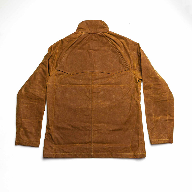 """Le Falot"" Waxed Jacket in Gold"