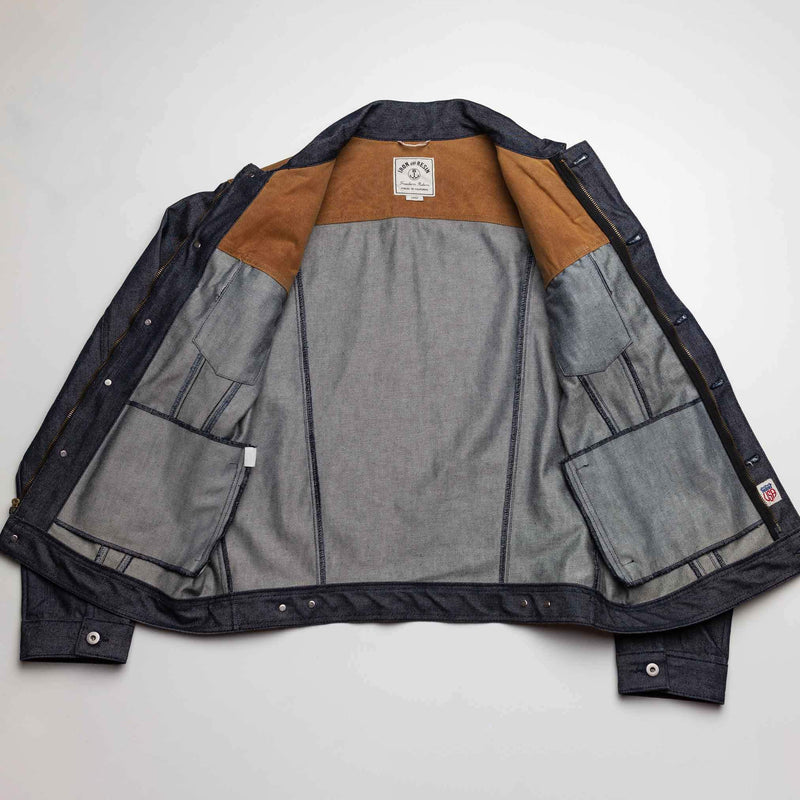 Rambler Jacket Indigo Wax - L/XL