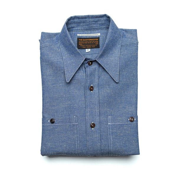US Navy Japanese Chambray Shirt