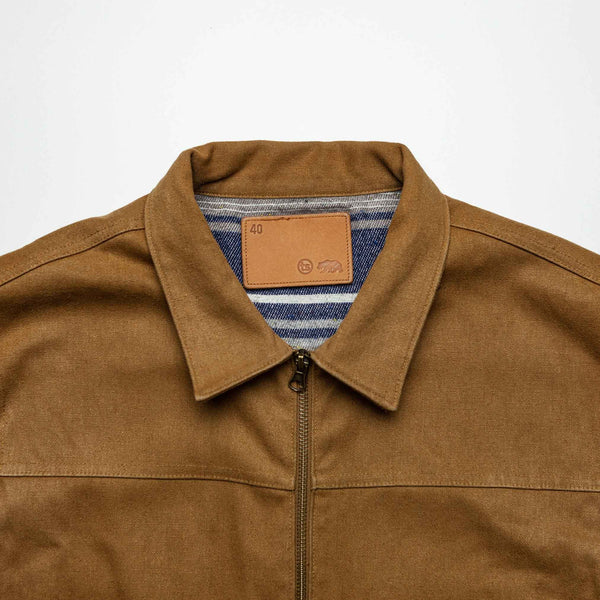 Mechanic Jacket in British Khaki - M