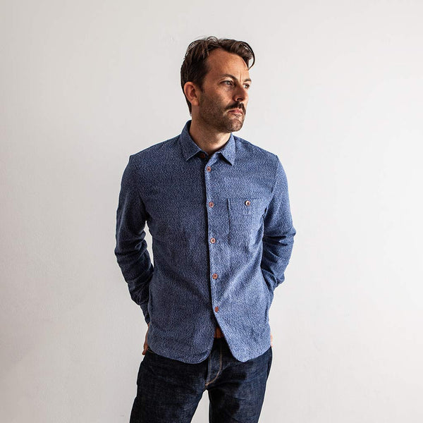 Strong Shirt - Blue Portuguese Flannel - The Revive Club