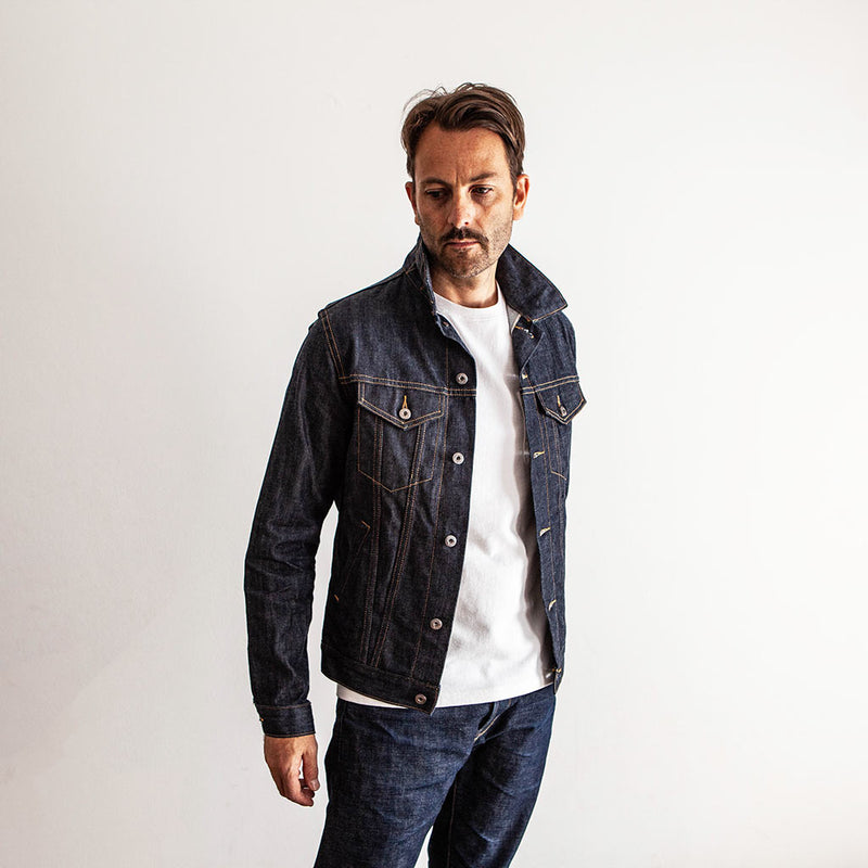 Lightweight Type 3s Denim Jacket - The Revive Club