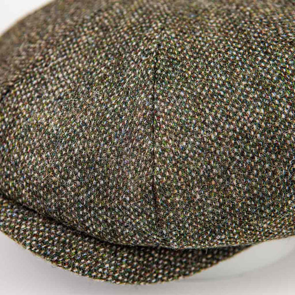 'La Gapette' Cap in Green Tweed - The Revive Club