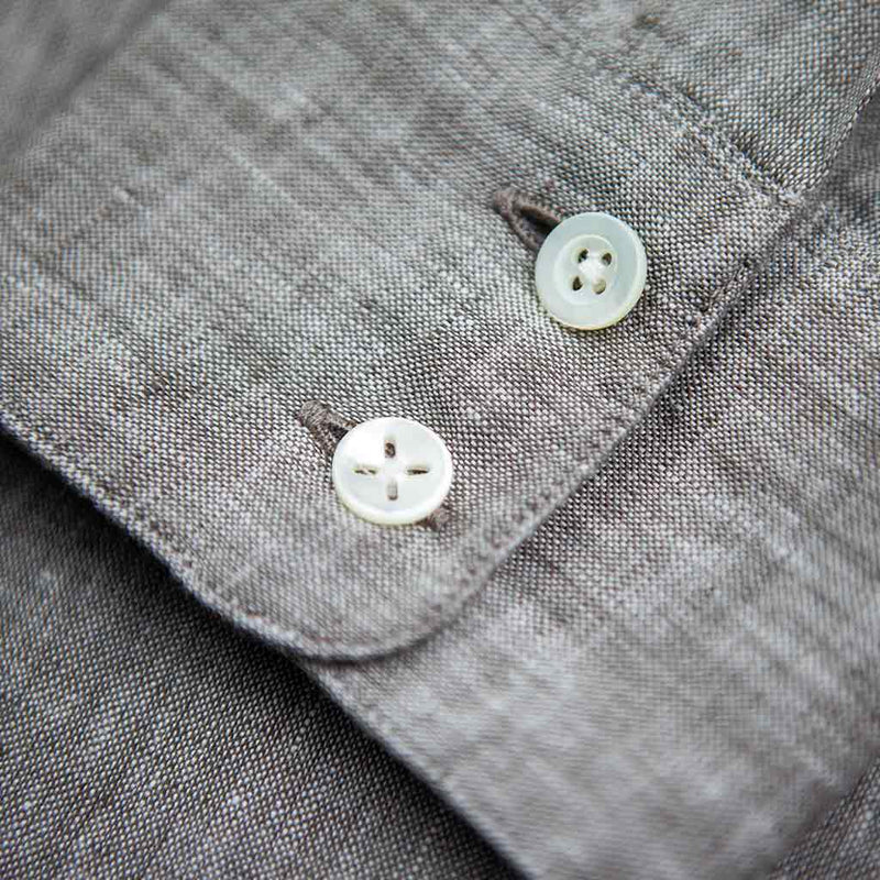 Feel Good Beige Linen Shirt - The Revive Club