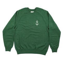 Cunha Sweatshirt in Green - The Revive Club