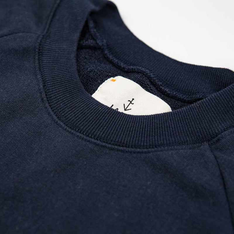 Cunha Sweatshirt in Navy - The Revive Club