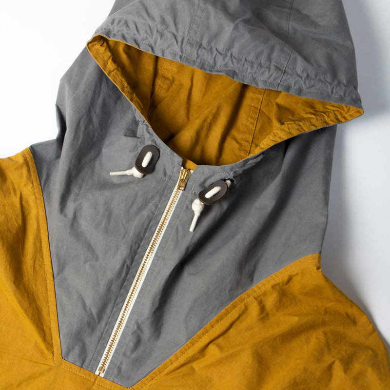 Nevis Smock in Cumin & Slate - The Revive Club