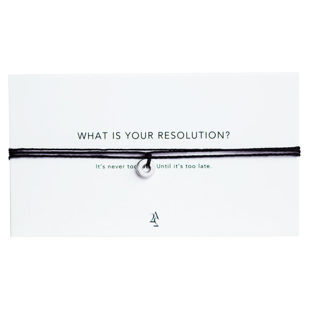 Article22 Resolution Wrap Men's Bracelet - Sustainable Jewellery