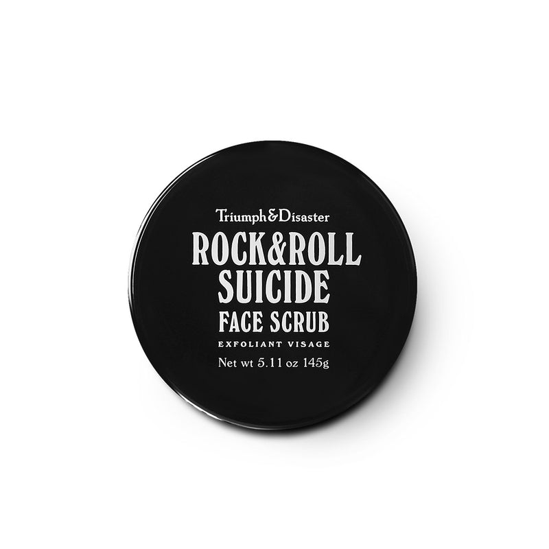 Rock & Roll – Volcanic Ash & Green Clay Face Scrub - The Revive Club