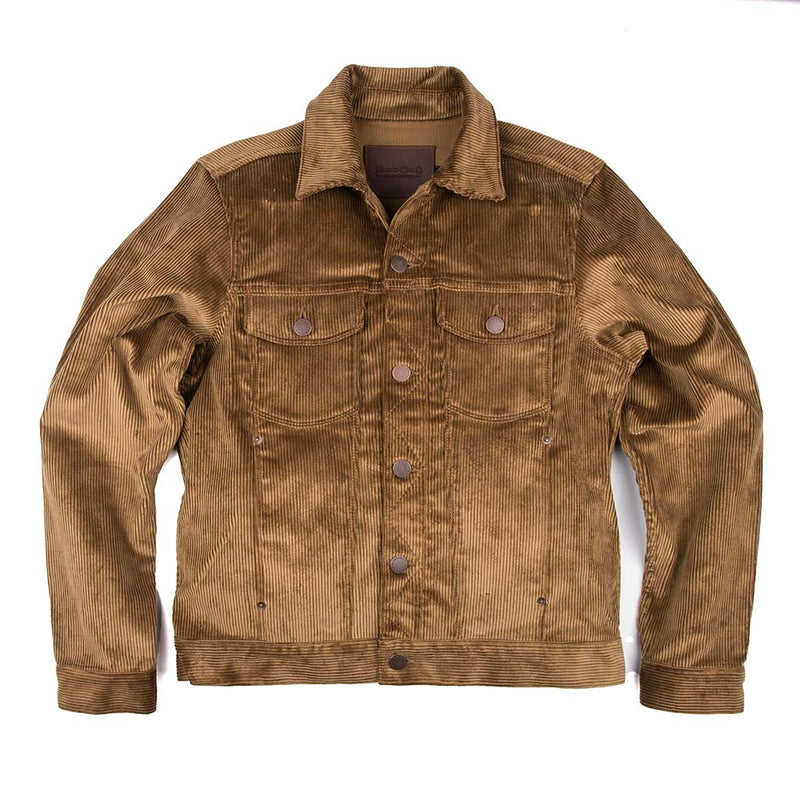 Classic Jacket in Gold Corduroy