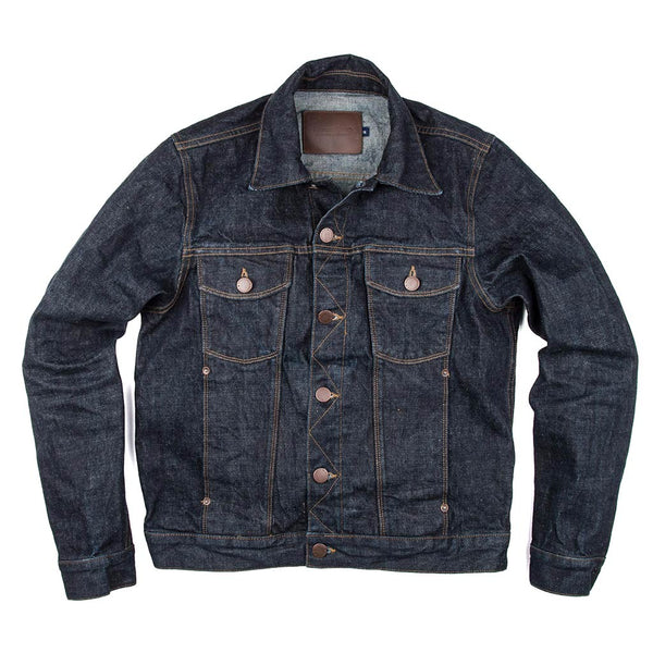 Classic Denim Jacket - Rinsed 16oz