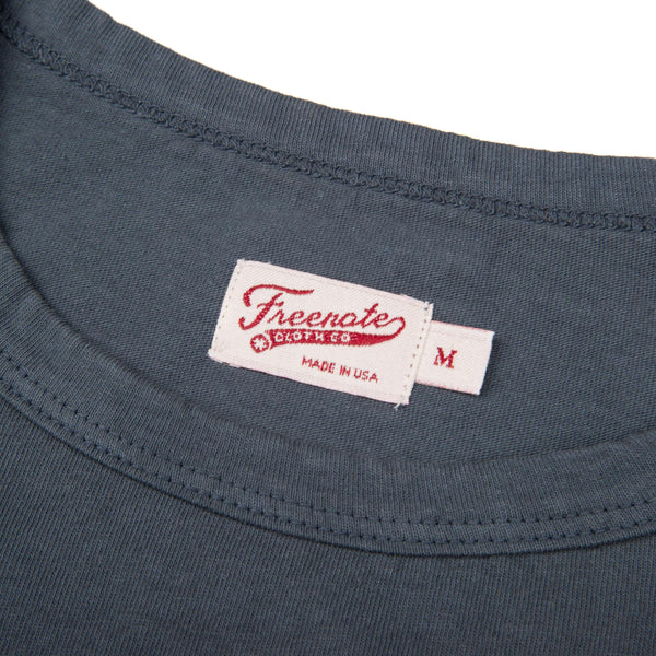 9 Oz Pocket T-Shirt Blue
