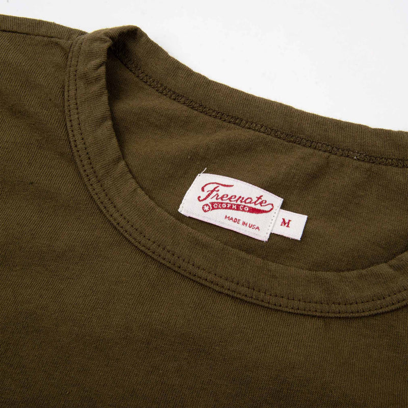 9 Oz Pocket T-Shirt Olive