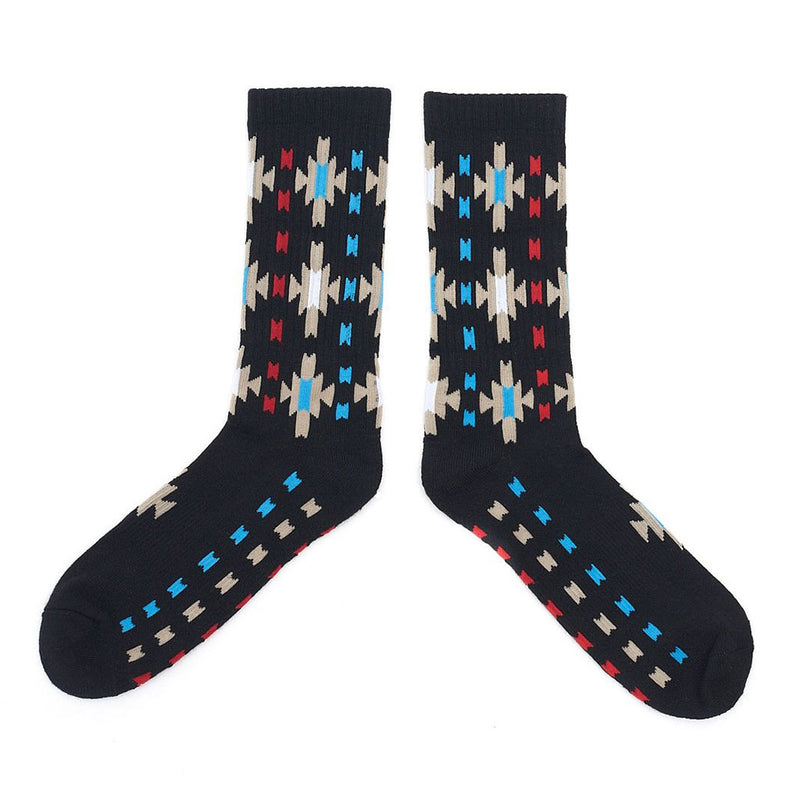 Starburst Socks - Black - The Revive Club