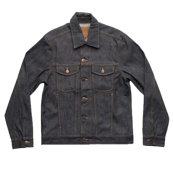 Classic Denim Jacket in Broken Twill - The Revive Club